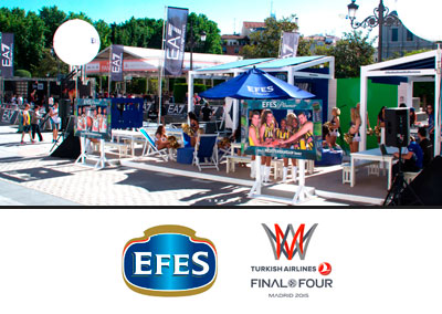 Efes Final Four Basket Madrid
