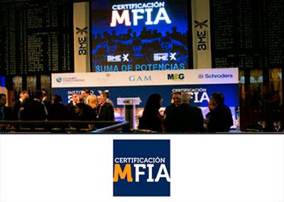 Evento certificación MFIA